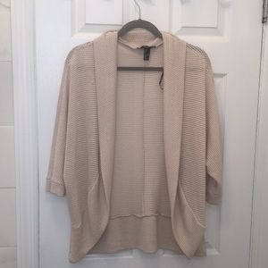 Creme Cardigan, 3/4 sleeve